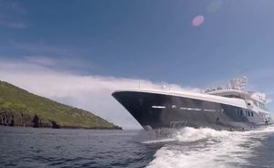 VIDEO: Superyacht 'La Familia' Cruising Around The Komodo Island