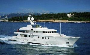 Superyacht Marjorie Morningstar Joins the Charter Fleet