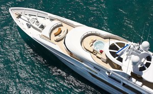 Superyacht HARMONY Offers 10% Reduction and Free Day for Caribbean Charters