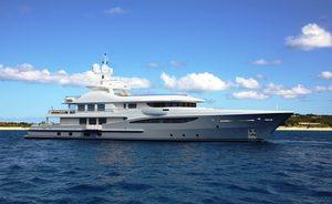 55m Superyacht ASTRA Joins Charter Fleet