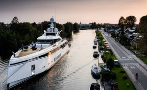 Feadship's super-fast 50m superyacht 'Totally Nuts' prepares for sea trials