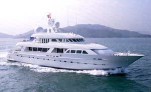 Caribbean special offer: No delivery fees  on luxury superyacht 'Island Heiress'