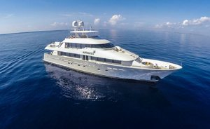 New England charter special: last-minute availability for 130ft (40m) motor yacht ANTARES