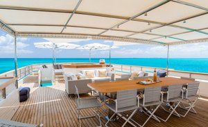 Superyacht PIONEER Offers Two Free Days Charter In The Caribbean