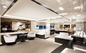 Sneak preview inside brand new charter yacht O'MATHILDE