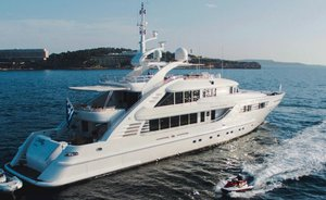 Special Mykonos charter deal offered on board superyacht OASIS