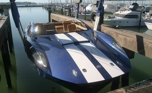Charter Yacht BLADE – New Amphibious Tender