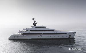 Brand new: impressive 61.5m (201.7ft) superyacht CLOUD 9 joins charter fleet in the Mediterranean