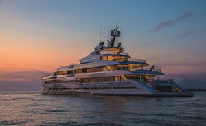 Benetti charter yacht LANA honoured at World Yacht Trophies in joint win
