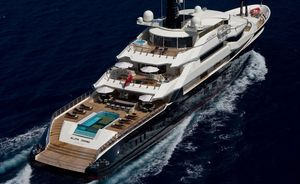 Superyacht ALFA NERO Available for Christmas