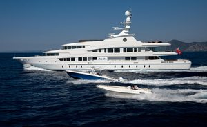 Last chance for Mediterranean charter aboard 63m superyacht LUCKY LADY