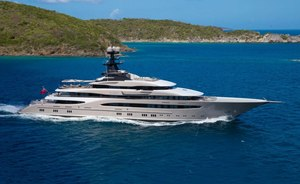 Lurssen superyacht KISMET to appear at 2019 Miami Yacht Show