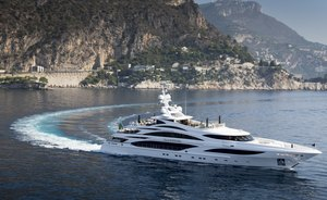 Superyacht 'Illusion V' available for Caribbean charter in 2020