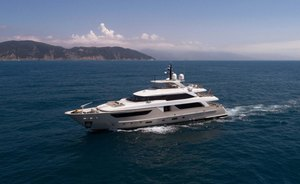 Superyacht NAMASTE now available for Greece yacht charters