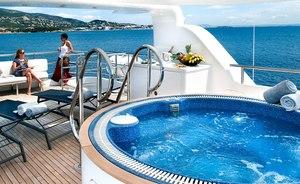 Superyacht 'Christina G' announces charter availability in the Balearics