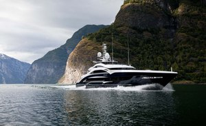 50m luxury yacht 'Lady Li' now available for crewed Caribbean yacht charters