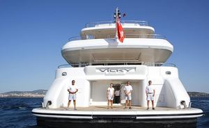 Charter Yacht VICKY Available In The Caribbean For The First Time Ever