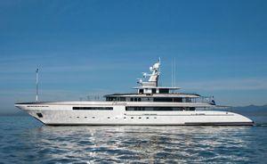 Superyacht ETERNITY joins global yacht charter fleet