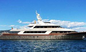 Charter Yacht 'Cloud Atlas' Now Open In The Mediterranean Following Major Rebuild