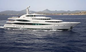 Charter Yacht 'LADY CHRISTINE' The Newest Addition to the Fleet