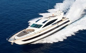 M/Y TOBY Offers Events Charters With No Repositioning Fees in The Mediterranean
