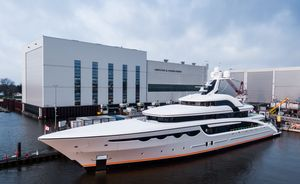 68m charter yacht SOARING delivered by Abeking & Rasmussen