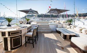 Enjoy a Caribbean Christmas charter aboard Benetti motor yacht 'Illusion V'