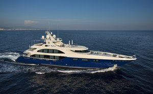 RESILIENCE renamed superyacht ARBEMA and available for Mediterranean yacht charter right now
