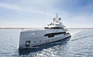 Brand new 50m luxury yacht ELA joins charter fleet in the Mediterranean