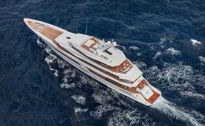 Feadship superyacht JOY now available for Caribbean yacht charter