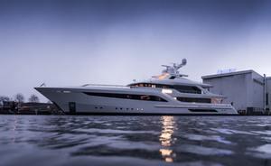 Feadship launches 55m motor yacht SOMNIUM