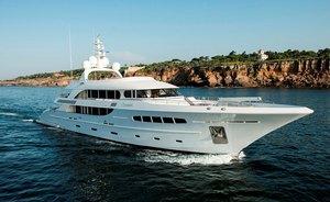 Acico Superyacht Nassima New to the Charter Fleet