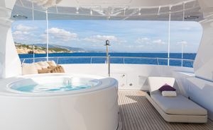 Feadship Motor Yacht GO Opens for Christmas and New Year's in St Barts
