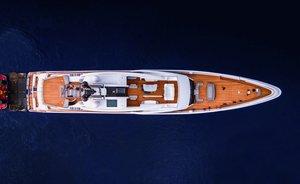 Feadship 819 (aka Project Galina) superyacht hits the water