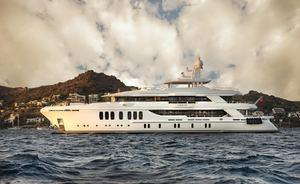 Brand New CMB Superyacht 'Liquid Sky' Joins Global Charter Fleet
