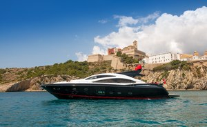 26m motor yacht PALUMBA now available for Ibiza and Balearic  yacht charters