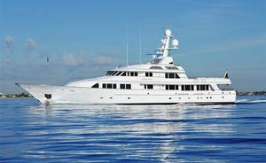 Superyacht GRAVITAS offers Unmissable Charter Rate Reduction for Jan and Feb