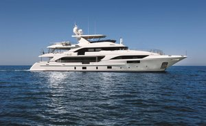 New Benetti superyacht 'Happy Me' delivered and available for luxury yacht charter in Croatia