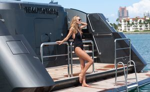 Superyacht TEMPTATION Unveils Special Christmas Offer on Charters in the Bahamas