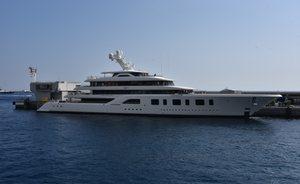 92m Feadship superyacht AQUARIUS joins the 2018 Monaco Yacht Show line-up
