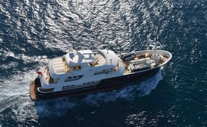 Maldives charter special: fantastic discount for 43m charter yacht SAFIRA