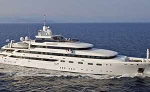 VIDEO: Exclusive look inside newly fitted superyacht O'MEGA