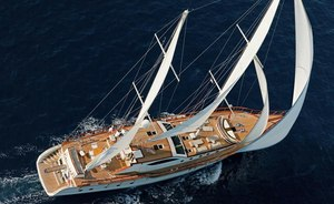 Sailing yacht 'Miss B' New to Charter Market in the Mediterranean