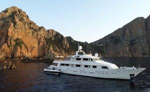 Heesen superyacht LIONSHARE available for Mediterranean yacht charter