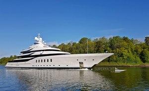 New Lurssen superyacht Madsummer starts sea trials