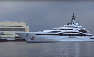 Brand New Video Of Lurssen Superyacht 'Al Lusail'