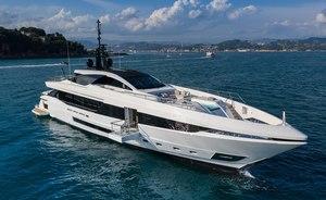 Luxury yacht MA joins Mediterranean charter fleet