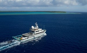 BBC Blue Planet TV series superyacht ALUCIA now available to charter