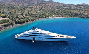 First look: Inside 94m charter yacht O'PARI