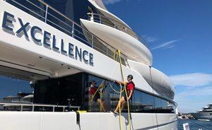 Live photos: Final preparations for 2019 Monaco Yacht Show
